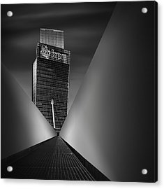 Working Dynamics I ~ Kpn Telecom Tower Acrylic Print