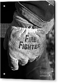 Working Gloves Acrylic Print