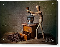 Working The Mill Acrylic Print by Nailia Schwarz
