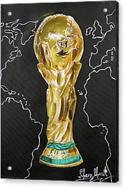 World Cup Trophy Acrylic Print