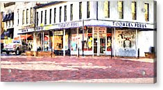 World Famous Toomers Corner Acrylic Print by JC Findley
