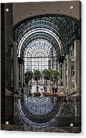 World Financial Center Nyc Acrylic Print by Robert Ullmann