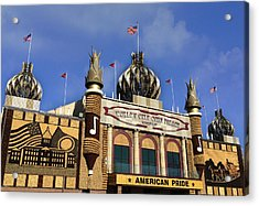 World's Only Corn Palace Acrylic Print by Art Spectrum