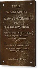 World Series 1913 Acrylic Print