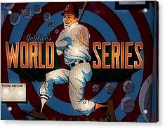 World Series Pinball Acrylic Print