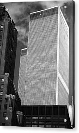 World Trade Center Acrylic Print by Eric Foltz