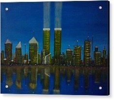 World Trade Center Acrylic Print by Jason Walburn