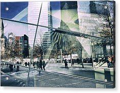 Acrylic Print featuring the photograph World Trade  by Jessica Jenney