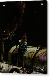 World Traveler Pinocchio Acrylic Print by Kelly Borsheim