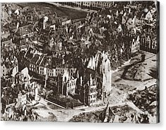 World War I: View Of Arras Acrylic Print by Granger