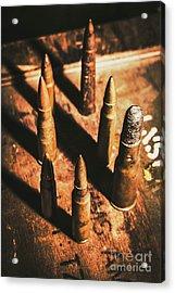 World War II Ammunition Acrylic Print
