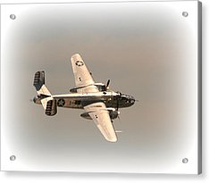 World War II B25 Mitchell Bomber Acrylic Print