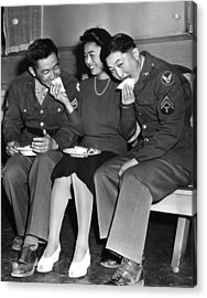 World War II, Corporal Frank N Acrylic Print
