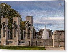 World War II Memorial Acrylic Print