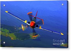 World War II  Mustang Acrylic Print