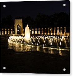 World War Memorial Acrylic Print
