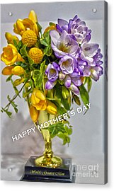 World's Greatest Mom Mother's Day Card Acrylic Print