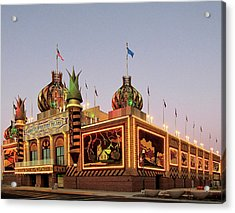 World's Only Corn Palace 2017-18 Acrylic Print
