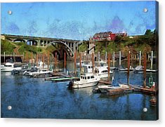 Worlds Smallest Harbor Acrylic Print