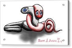 Worm Hug. Acrylic Print