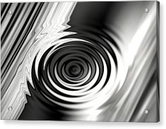 Wormhold Abstract Acrylic Print