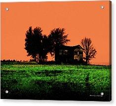 Worn House Acrylic Print