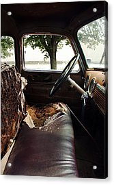 Worn Out 2 Acrylic Print by Joanne Coyle