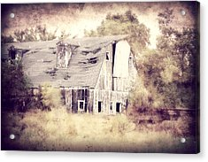 Worn Out Acrylic Print by Julie Hamilton