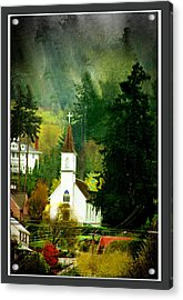 Worship In Kalama Acrylic Print by Dale Stillman