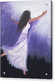 Worship Acrylic Print by Maggie  Morrison