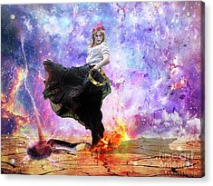 Worship Warrior Acrylic Print