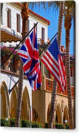 Worth Flags Acrylic Print