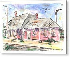 Worthington Depot Acrylic Print by Matt Gaudian