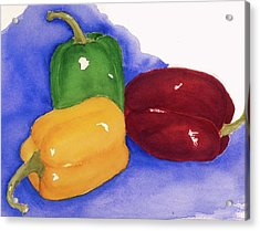 Would You Believe Peppers Acrylic Print