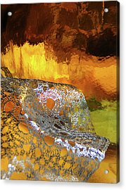 Woven Palette Acrylic Print
