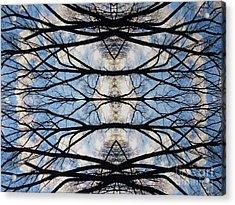 Woven Sky Acrylic Print