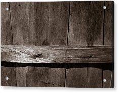Acrylic Print featuring the photograph Woven Wood by Chris Bordeleau