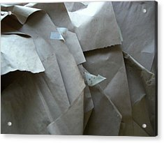 Wrappings Acrylic Print by Nancy Ferrier