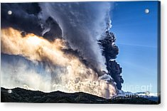 Wrath Of Nature Acrylic Print by Giuseppe Torre