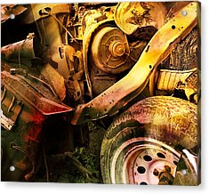 Wreck Close Up Acrylic Print