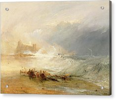 Wreckers - Coast Of Northumberland Acrylic Print by Joseph Mallord William Turner