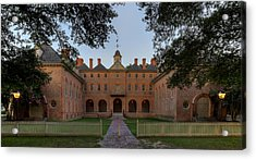 Wren Building At Dusk Acrylic Print