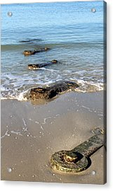 Wrenches In The Sand Acrylic Print