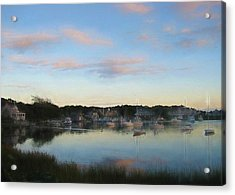 Wrentham Sunset Acrylic Print by JAMART Photography