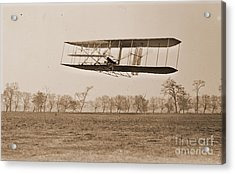 Wright Brothers Flight 85 Acrylic Print by Padre Art