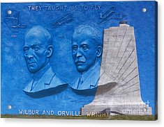 Wright Brothers Memorial Acrylic Print by Randy Steele