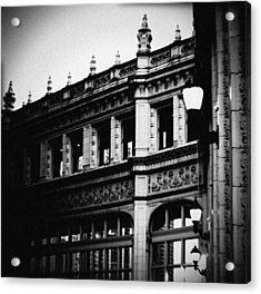 Wrigley Building Square Acrylic Print