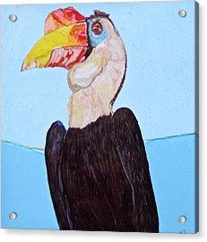 Wrinklebill Acrylic Print