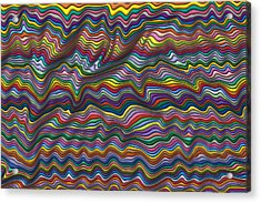 Wrinkled Acrylic Print