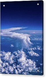Writing In The Sky Acrylic Print